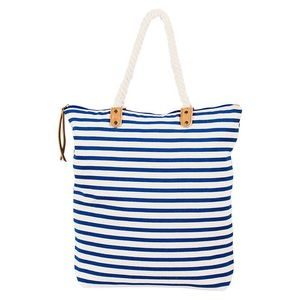 "NEW! Blue Striped ""Brittany Tote"" by summer & rose"